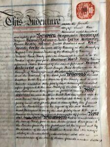 Vellum Deed , 4 June 1884..Land ,85 Gilman Street, HANLEY...Staffordshire