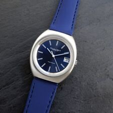IWC International watch Schaffhausen elettronico CAL C.150 Diapason Quadrante Blu