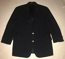 Brooks Brothers Mens Classic Navy Wool Brooksease Blazer / Jacket - Size 42 SH