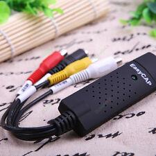 EasyCAP USB 2.0 Cable Adapter Audio Video Grabber Capture Card Windows 7 8 64b