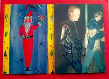 """Glen Campbell"" signed unique Christmas card & envelope!...no.#1"