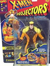 Vintage 1994 Marvel Comics ~ SABRETOOTH ~ X-Men Figure ~ Projectors ~ ToyBiz