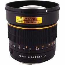 Obiettivi Samyang per fotografia e video Canon