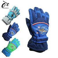 Kids Ski Gloves Thicken Waterproof Windproof Snowboard Child Winter Sports Glove
