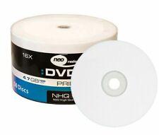 200 NEO Printable White DVD-R 16x High Quality DVD Blank Discs 4.7GB 120mins