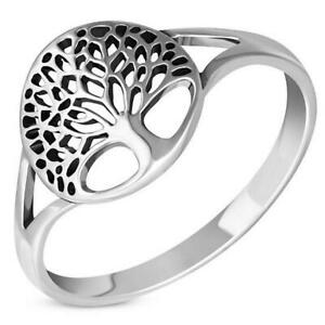 Tree of Life  Sterling Silver 925 Ring- Multiple Sizes Available