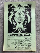 Vintage Soap Creek Saloon Poster