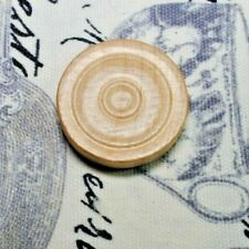 Wood Blonde Beige Light Stain Backgammon Checkers Token Replacement 1 1/4""