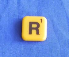 Words With Friends Letter R Tile Replacement Magnet Game Part Piece Craft Yellow