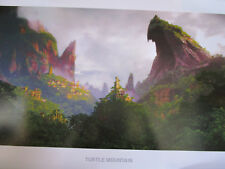 Uncharted 4 Turtle Mountain Limited Edition Official Print Lithograph #149