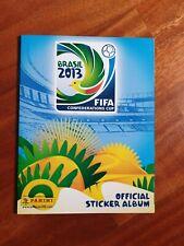 Album Panini BRASIL 2013 FIFA CONFED CUP (2013), completo, originale, DA EDICOLA