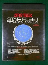 Star Trek 1975 Star Fleet Technical Manual – Good Condition - Ballantine Books