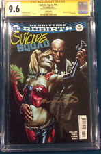 Suicide Squad #16 CGC SS 9.6 Lee Bermejo Variant SIGNED Comic cbcs Harley Quinn