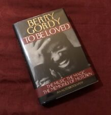 Berry Gordy - To Be Loved. Motown. Signed hardcover book.