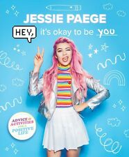 Hey Its Ok to be You Jessie Paege Girls Teen Positive Book Tube Page PREORDER