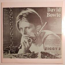 David Bowie - Ziggy 2 (LP, USA, 1978) Rare!