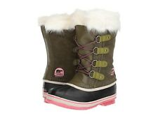 Authentic SOREL Youth Joan of Arctic NY #1858-013 Girls Winter Snow BOOTS Black 6