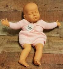 "Vintage Newborn Doll Baby Lupe Closed Eyes 20"" Girl"