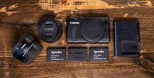 Canon EOS M Digital Camera - (Kit w/ EF-M STM 22mm Lens) with EF Adapter