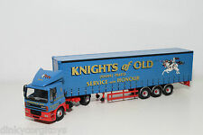 CORGI TOYS 75405 DAF 85 TRUCK WITH TRAILER KNIGHTS OF OLD VERY NEAR MINT