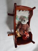 "World of Miniature Bears 2.75"" Plush Bear Haley #1010A Collectible Bear"