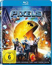 Pixels [Blu-ray](NEU/OVP) Mit Adam Sandler und Kevin James besetzte Actionkomödi