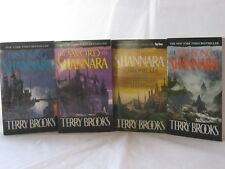 The Original Shannara Trilogy Series by Terry Brooks (4 Book Set) Mass Market PB