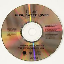 KD LANG - HUSH SWEET LOVER CD promo single (Even Cowgirls Get The Blues) VGC