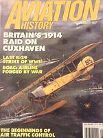 Aviation History Magazine Britain's 1914 Raid Cuxhaven January 1997 112618nonrh