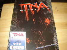 2010 TNA Wrestling Official Program 15 Personally Signed Autographs