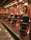 (2)Emil J Paidar Antique Barber Chair Chicago USA