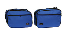 BMW R1200RT PANNIER LINER BAGS EXPANDABLE BLUE COLOUR