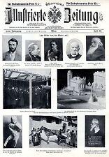 Österreichs Illustrierte Zeitung Bilder der Woche Sonntag 16.Mai 1909
