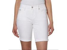 9a2e0d6f1ae8 Calvin Klein Jeans Women's Denim Bermuda Shorts Cuffed Hem. Inseam 8