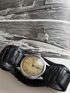 Original WW2 Kriegsmarine Wrist Watch with a 15 jewel Festa 720