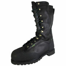 Leather Solid Work & Safety Boots for Men
