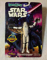 """1993 VINTAGE BEND-EMS STAR WARS JUSTOYS """"STORMTROOPER"""" COLLECTABLE POSEABLE."""