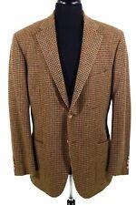 POLO RALPH LAUREN x Corneliani 44 R Gun Club Check Wool Tweed ITALY Jacket Coat