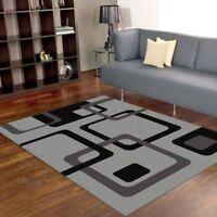New Augusta Modern Floor Rug Carpet Non Shedding Pile All Sizes
