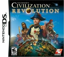 Nintendo DS : Sid Meiers Civilization Revolution Complete with manual