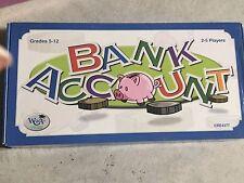 Bank Account Educational Math Money Game Creative Teaching 2002 Grades 5-12