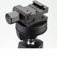 "10pcs/LOT HSA-2 Hot Shoe Flash Stand Adapter with 1/4""-20 Tripod screw DSLRKIT"