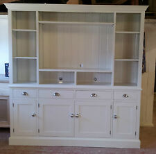 Painted TV Entertainment Unit - 4 drawers over 4 doors
