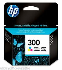 Original Hewlett-Packard (HP) 300 Colour Ink Cartridge (CC643EE) VAT inc