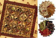 FOUR SEASONS QUILT PATTERN + RARE CHARM PACK by Brannock & Patek - MODA Fabric