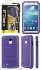 OEM Body Glove ShockSuit Rugged Case For Samsung Galaxy S4 S-4 IV SIV Purple