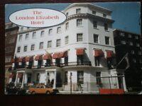 POSTCARD LONDON THE LONDON ELIZABETH HOTEL