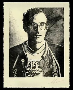**IN HAND** OBEY Keith Haring Art is for Everyone Print Signed Everybody LE450