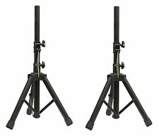 *2* x NJS Short Adjustable Aluminium Speaker Stand 35mm PA DJ Event Party #063A