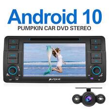 "Pumpkin 7"" 1 DIN Android 10.0 Autoradio GPS Navi DVD DAB Für BMW E46 318+Kamera"